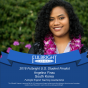Angelina Finau with Fulbright honor for English teaching assistanship.